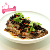 Milk Fish with Salted Black Bean