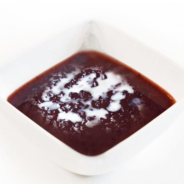 Black Glutinous Rice Cream