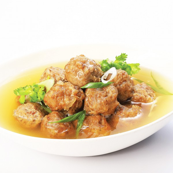 Handmade Beef Ball With Chicken Soup (24 pcs)