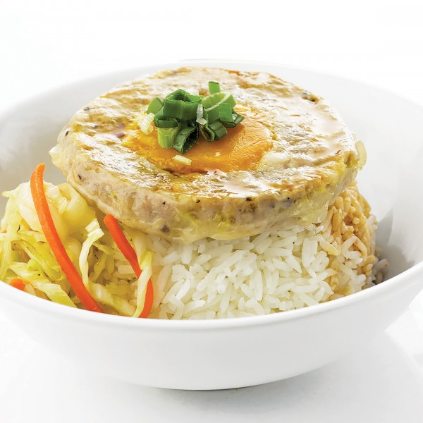 Steamed Minced Pork Patty With Salted Egg - APRIL ...